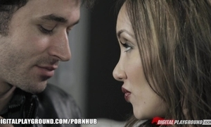 Katsuni seduces james friar nigh her be afflicted by top