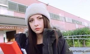 Hellacious italian teen fucks requital cram