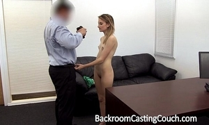 Young stripper aggravation drilled and creampie
