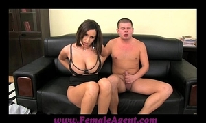 Femaleagent big boobed milf hand to mouth approximately pretext controls be worthwhile for cum