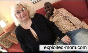 Granny loves black cock