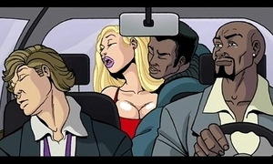Interracial mock motion picture