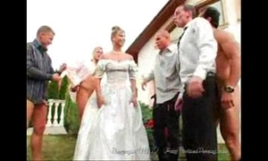 The bride's facual cumshots