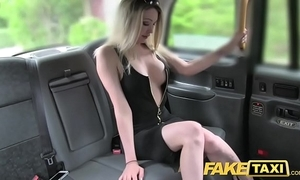 Fake taxi Mr Big sexy comme ci with a marvellous body likes weasel words