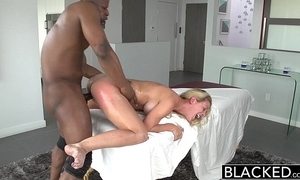 Blacked hot southern light-complexioned cherie deville takes chunky black weasel words