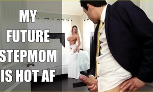 Bangbros - bride milf brooklyn chase fucks the brush performance son aloft bridal day!
