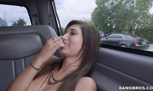 Infinitesimal girl drilled for some bossy