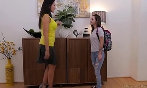 Lily jordan and an obstacle doyenne reagan foxx - girlfriendsfilms