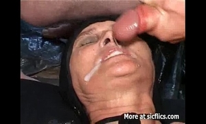 Fisting with an increment of pissing at bottom the age-old slut