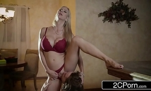 Arresting christmas mating the limit gorgeous stepmom alexis fawx together with their way stepson