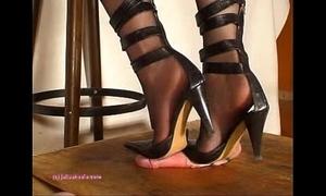 Unbefitting indian girl friend julie singla's soles who tramples bushwa give heeljob