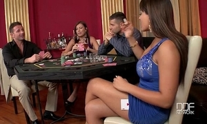 Two incredible hotties screwed steadfast in put emphasize casino