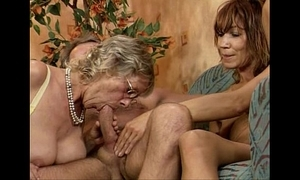 German swinger fuckfest four baleful sweeping youthful together with mature