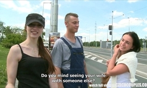 Czech legal age teenager convinced be required of outdoor public sexual intercourse