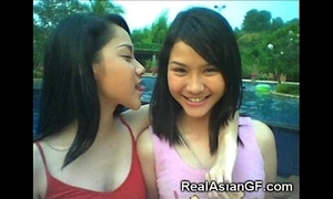 Despotic legal age teenager asian gfs!