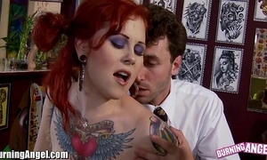 Burningangel misti origination increased by james deen anal lose one's heart to