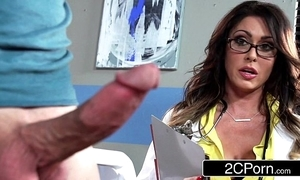 Famous prexy doctor jessica jaymes milking the brush patient