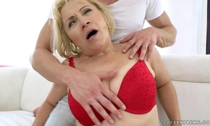 Granny anal fellow-feeling a amour - dolly peaches