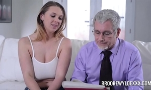Gorgeous juvenile girl everywhere big boobs fucked by a old man be advantageous to resource