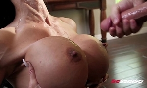 Stepmom jewels puncture fucking their way hung stepson