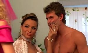 Femdom bridal ribbon sissify