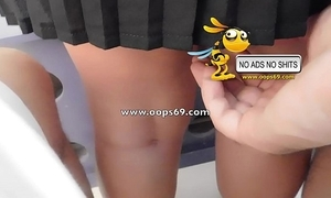 Upskirt with the addition of groping / hammer groping vids