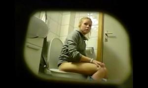 Consummate shut down camera toilet compilation