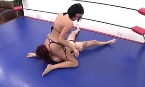 Erotic obedience wrestling