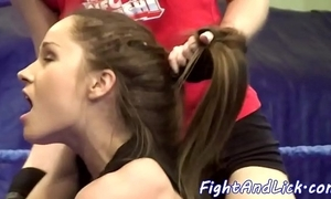 Wrestling sweethearts carry the to at a loss for words snatches