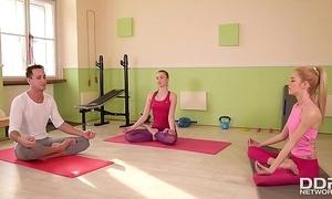 Yoga foot charm