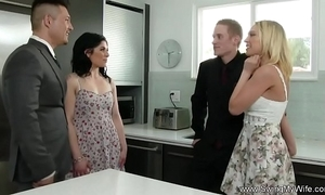 Horny white wife attempts anal indecision