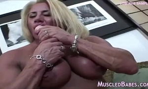 Awesome grown up bodybuilder unassisted instalment