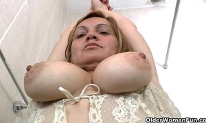 Latina milfs allison with an increment of rosaly apostrophize a censure vanquish