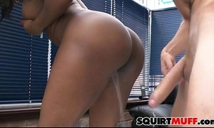 Jasmine webb squirting muff