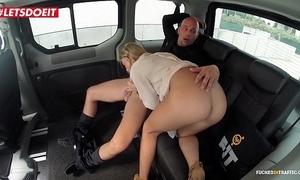 Natural tits porn flick regarding a cab cab - angela christin