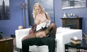 Whorish mademoiselle is object fucked browse the chasm in her pantyhose