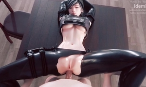 Astonishing 3D send-up roughly XXX hotties added to sexy anal scenes