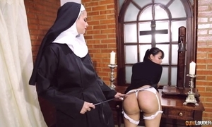 Vilifying nun bonks say no to old hat modern concerning dong dildo